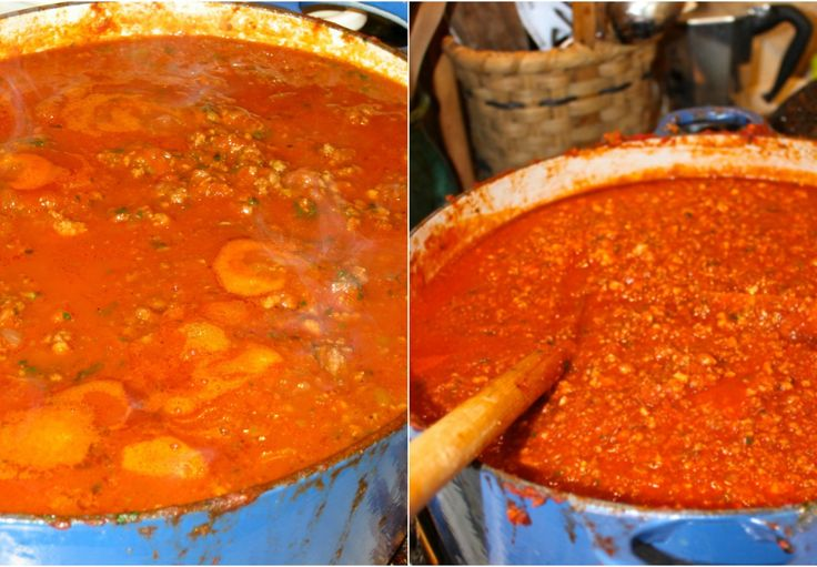 Traditional, AUTHENTIC, straight from my Bolognese family in Italy: BOLOGNESE SAUCE -- PERFECT!