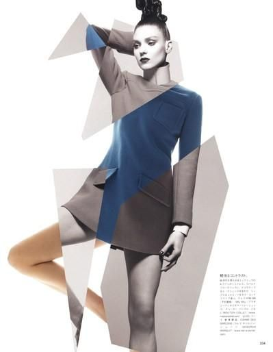 Kati Nescher for Vogue Japan ( Organic Neo-Tech ) - October 2012