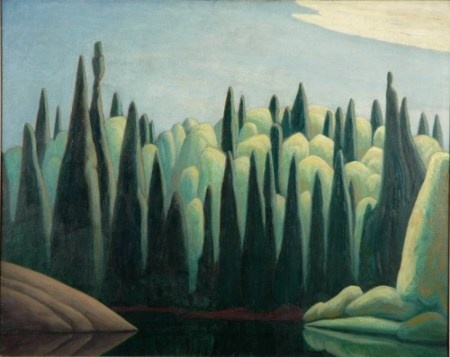 Lawren Harris - 'Spring on the Oxtongue River', 1924