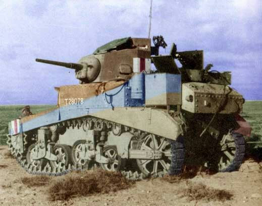 M3A1 Stuart tank North Africa, pin by Paolo Marzioli