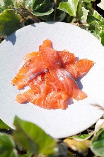 Соленый лосось. Рецепты Белоники