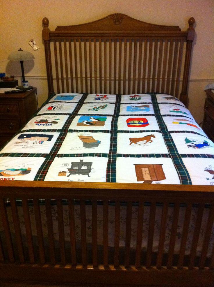 Traditional Newfoundland Quilt