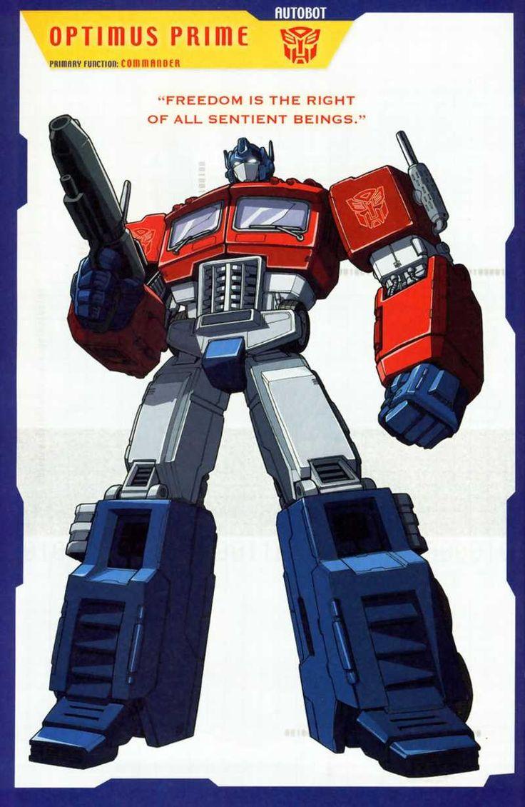 Transformers universe gallery g1 optimus prime