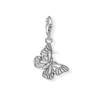 Přívěsek z oceli motýlek