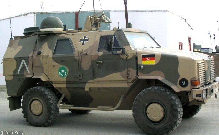 ATF Dingo in Umtarnfarben (Bw)