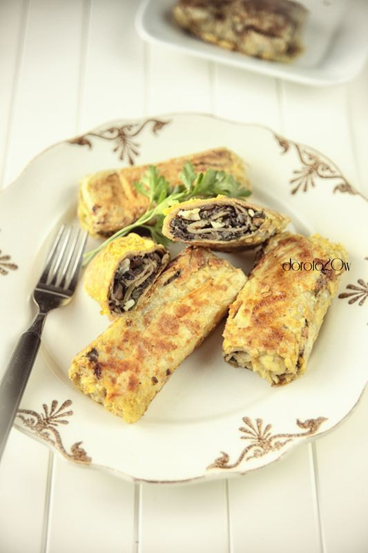 Mushrooms and Egg Croquettes