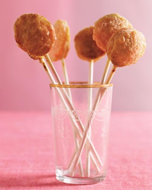Lollipop mini pies