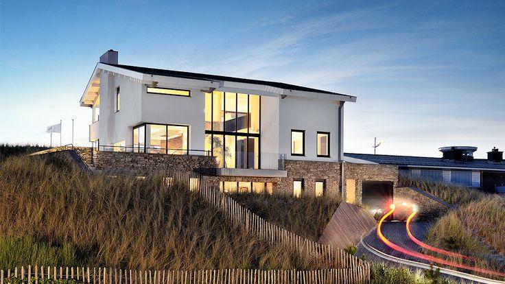 Villa in Bergen aan Zee, the Netherlands by BNLA architecten, photography by Studio de Nooyer