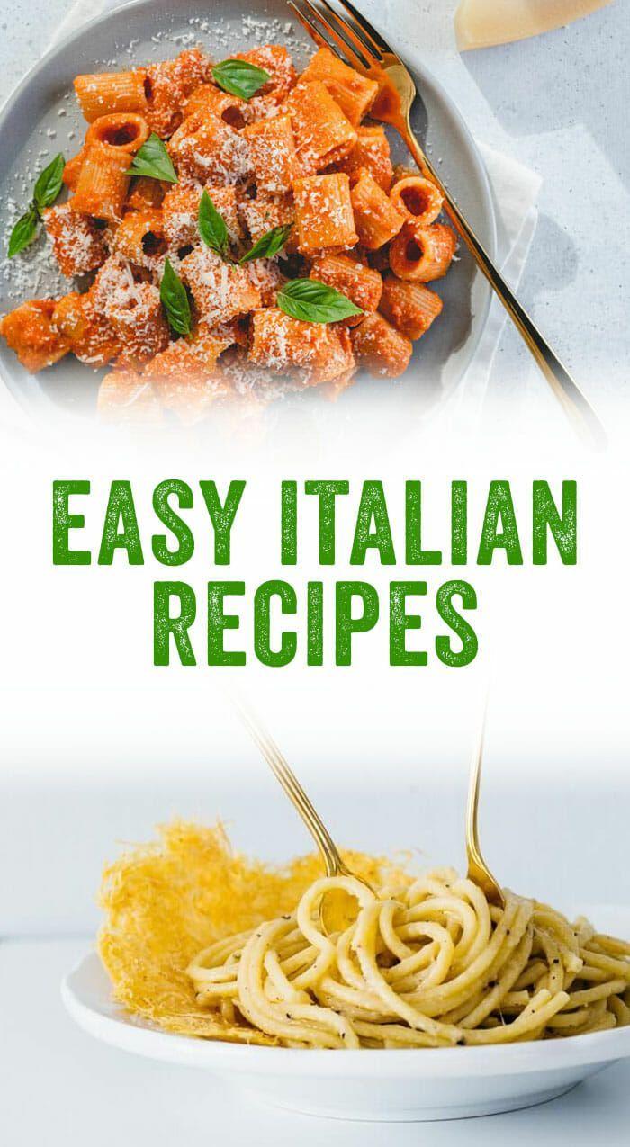 20 Easy Italian Recipes A Couple Cooks Recipe Italian Recipes Italian Recipes Easy Easy Italian