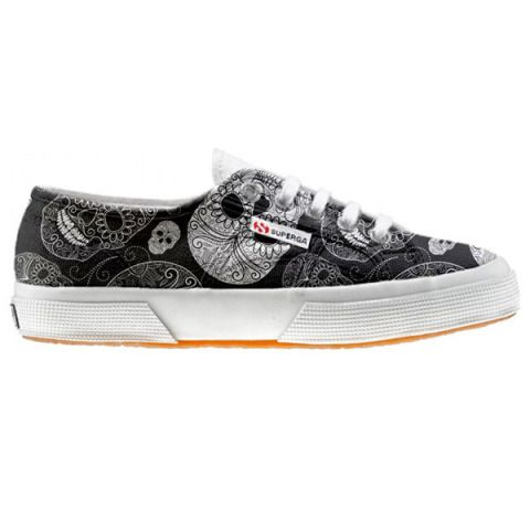 Shoe Superga cutomized Paisley