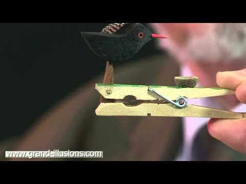 Pecking Bird Craft Toy