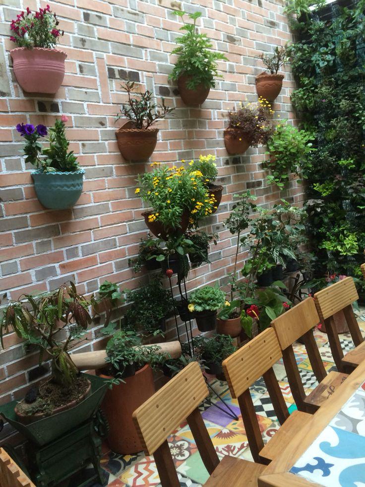 Espacios jardines mosaicos en @dulcesdeljardin