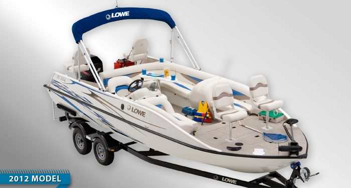Aluminum Deck Boats and Fishing Deck Boats | Best Deck Boats and Deck Boat Guide from Lowe and Princecraft : 2012