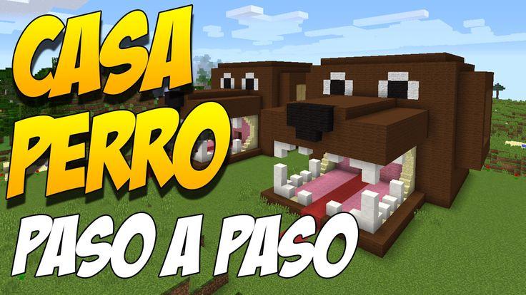 COMO HACER UNA CASA PERRO PASO A PASO - Construccion En Minecraft