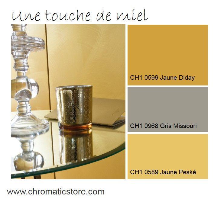 les 75 meilleures images du tableau chromatic en jaune sur pinterest jaune bureaux et. Black Bedroom Furniture Sets. Home Design Ideas