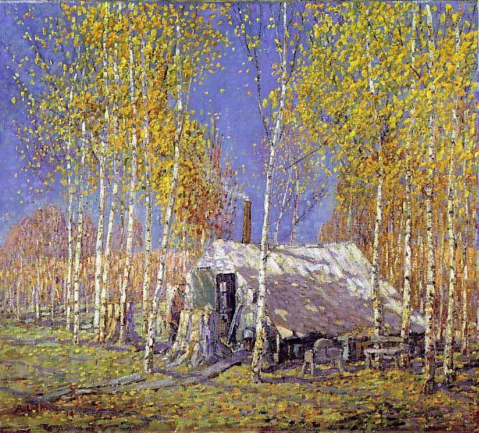 """The Guide's Home"", Algonquin Lismer, Arthur"