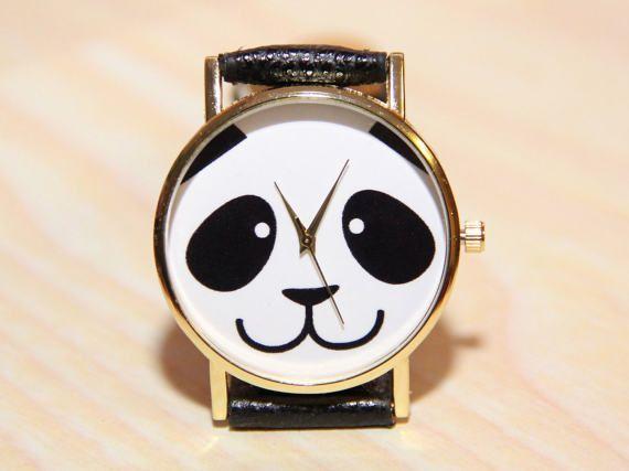 Watch panda watch animals women's watches men's by RedMadagaskar