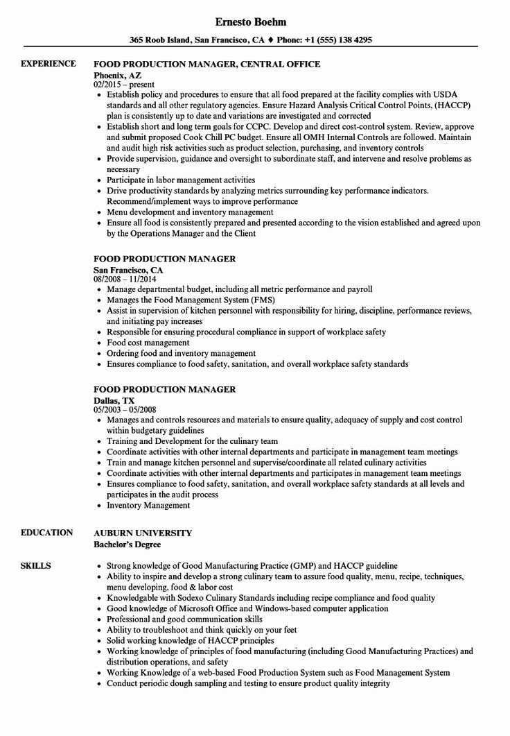 Production assistant Job Description Resume Inspirational