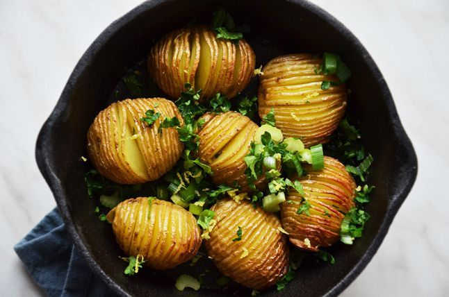 Kublanka vaří doma - Jak na ... brambory Hasselback