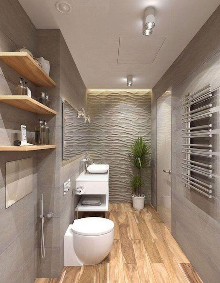 60 elegante kleine Master-Badezimmer umgestalten (58)