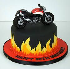 motor bike cake - Google Search