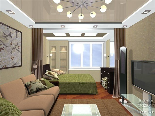 зонирование комнаты спальня гостиная - Поиск в Google