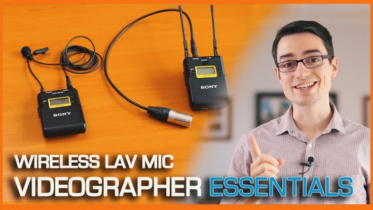Wireless Lavalier Microphone for video production - Audio recording tips...