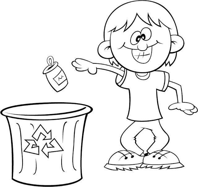 Dibujos para colorear de normas de convivencia para niños de ...