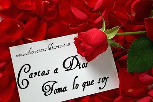 Cartas a Dios: Toma lo que soy – Brendaliz Avilés,hago mia esta oracion