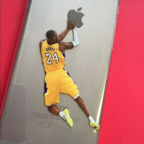 iPhone 6+ Kobe Lakers silicone case New iPhone 6plus Kobe Bryant Lakers silicone case with printed image Jordan Accessories Phone Cases