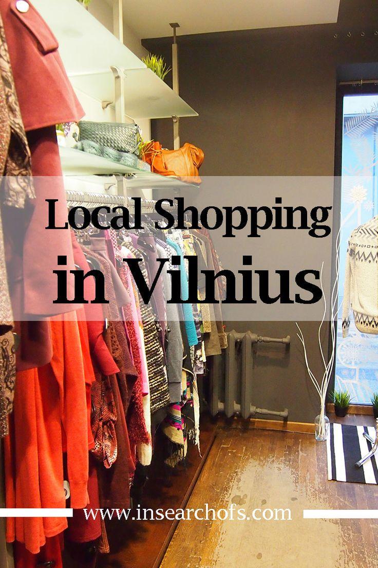 In Search Of: Shopping in Vilnius