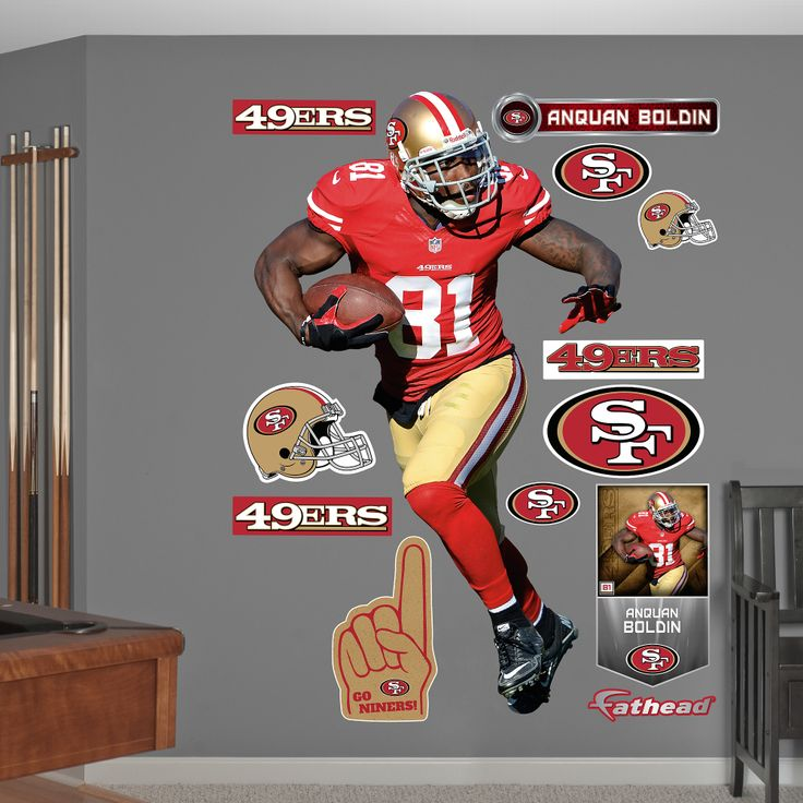 88 best images about san francisco 49ers on pinterest for 49ers wall mural