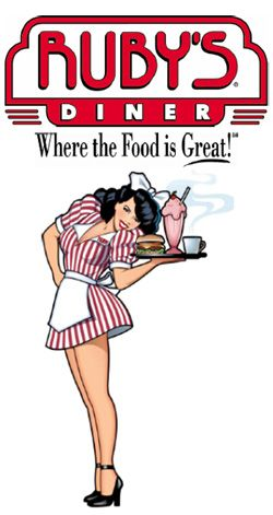 Ruby's Diner is located in front our hotel in the Shoppes at Brinton Lake.  (Staybridge Suites Wilmington Brandywine Valley)