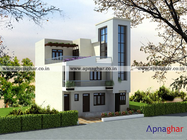 Get Multiple Options 3D Elevation Drawings Before Starting House Construction Visit