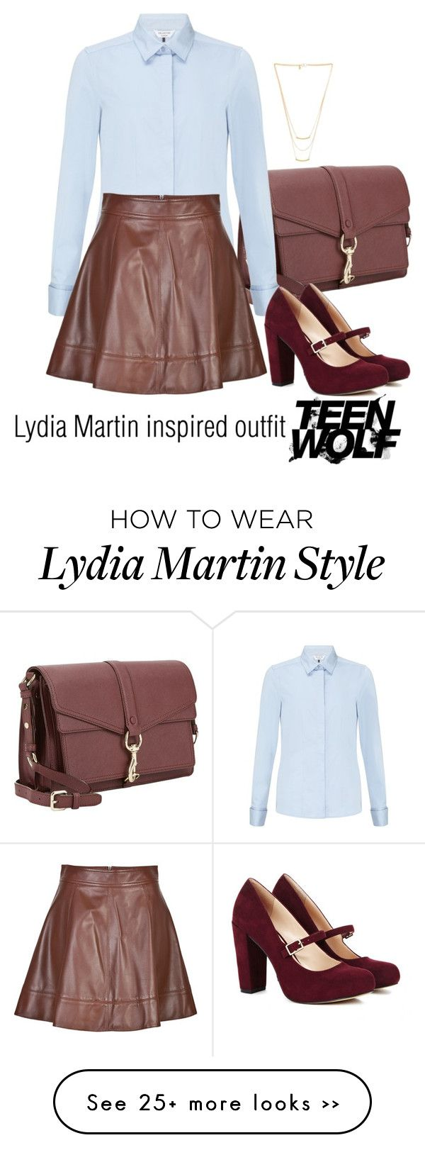 """""""Lydia Martin inspired outfit/TW"""" by tvdsarahmichele on Polyvore"""