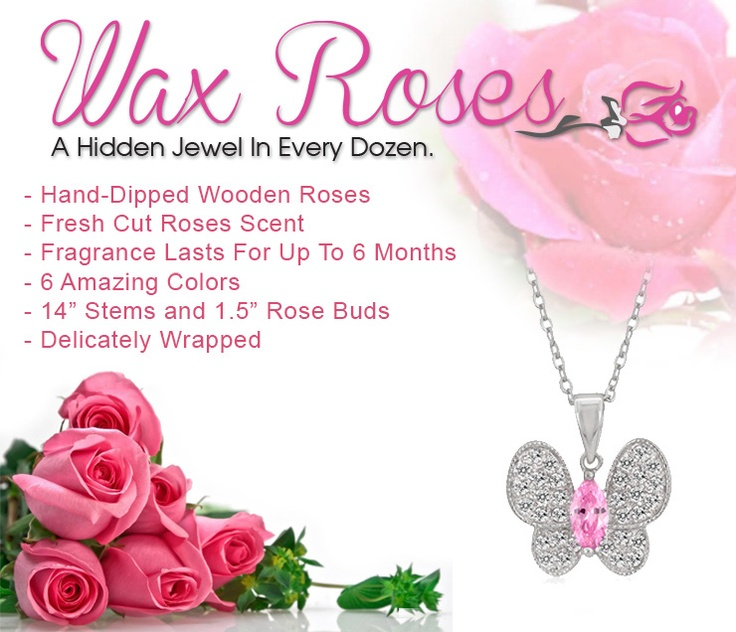 Be sure to check out our new Jewelry Wax Roses @ WaxRoses.com on January 15th!