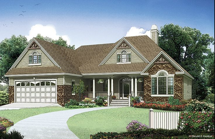 Home Plan The Landry by Donald A. Gardner Architects