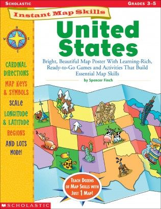 Best Scholastic Wish List Images On Pinterest Guided Reading - Us map crosswords scholastic professional books answers