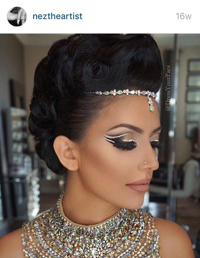 Arabian eye makeup by neztheartist                                                                                                                                                                                 More