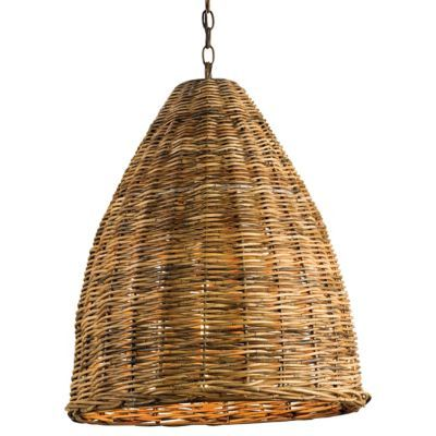 Basket Pendant by Currey and Company