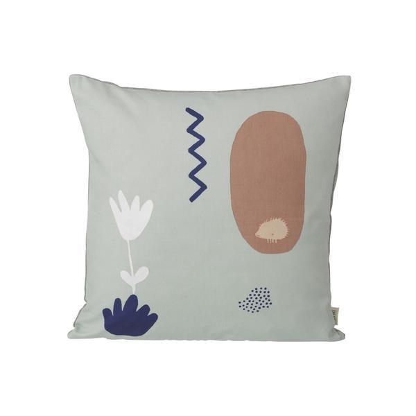 Landscape Cushion - Mint