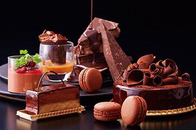 Anaクラウンプラザホテル神戸で「バレンタイン デザートブッフェ」チョコレートの奥深い魅力を堪能