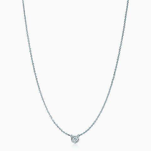 Elsa Peretti® Diamonds by the Yard® pendant in sterling silver.