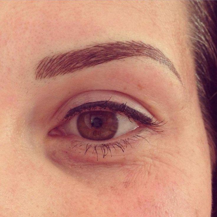 maquillage permanent sourcils- ombrage poil par poil et eye-liner