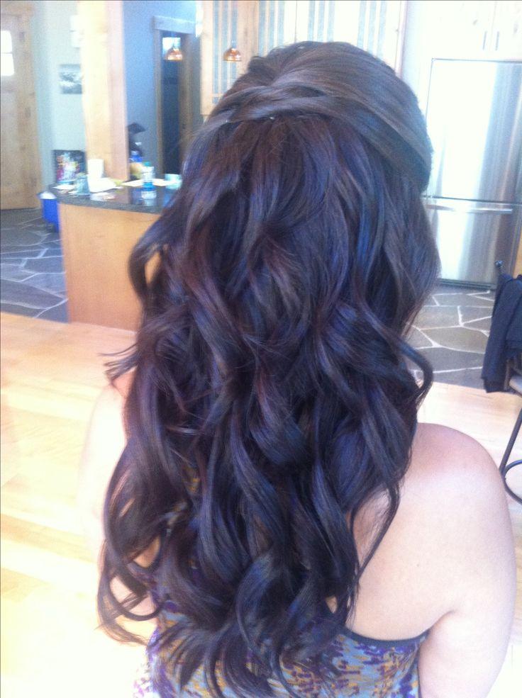 Maid of honor -by Angela at rah hair studio in south Lake Tahoe