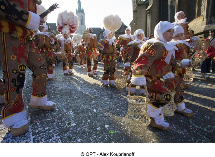 Carnival in Binche - Belgium