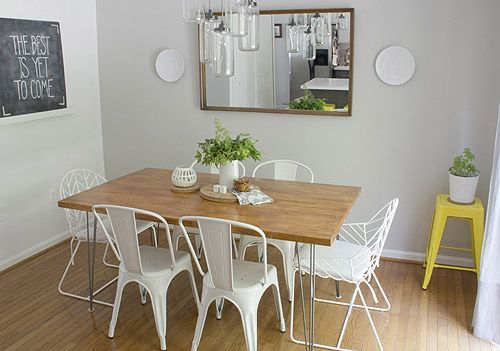 Decoracion De Interiores Cocinas Ikea ~ Dining Rooms, Hairpin Table, Sweet, Dining Table, Hairpin Legs, Chairs