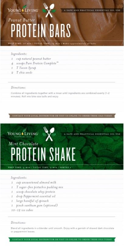 FitCon Recipes - Young Living
