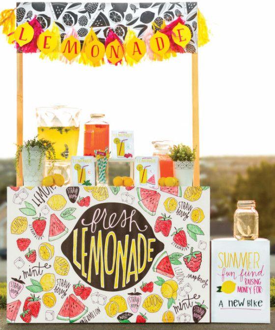 Puesto de limonada sencillo_2. Propuesta Efimerata