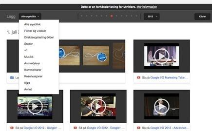 Google+ History og Øyeblikk – den store stille nyheten på Google I/O
